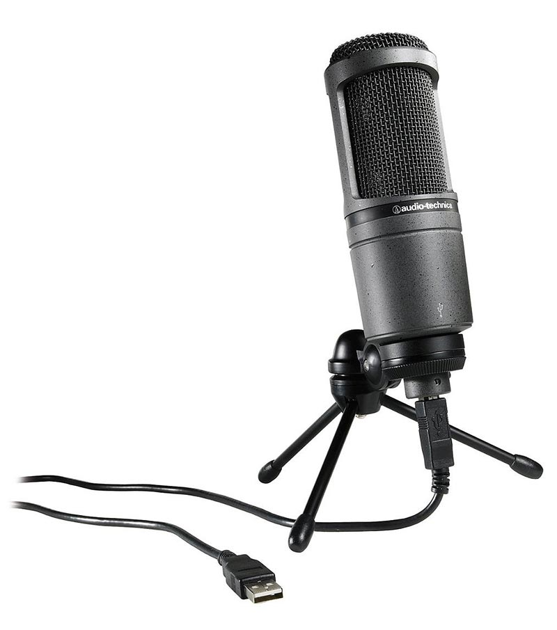 Audio-Technica-AT2020-USB-Condenser-Microphone