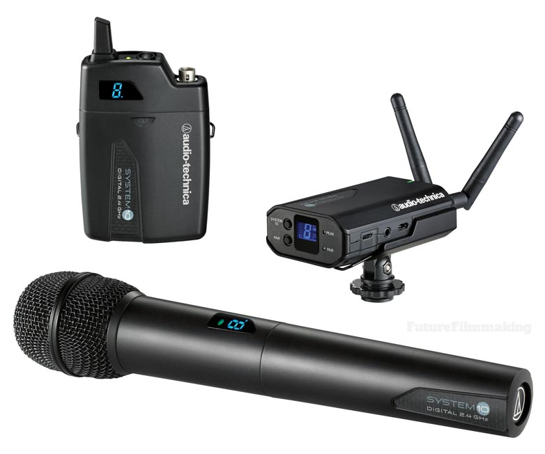 Audio-Technica-System10 wireless microphone system