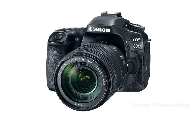 Canon Announces 80D DSLR, DM-E1 Shotgun Microphone, EF-S