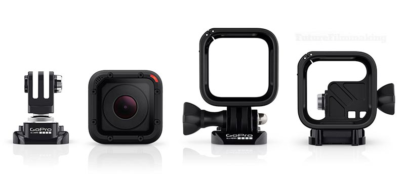 GoPro Hero4 Session Mounts