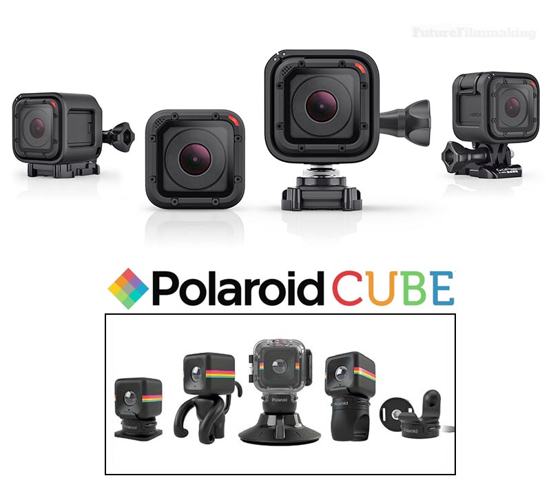 GoPro Hero4 Session VS Polaroid Cube
