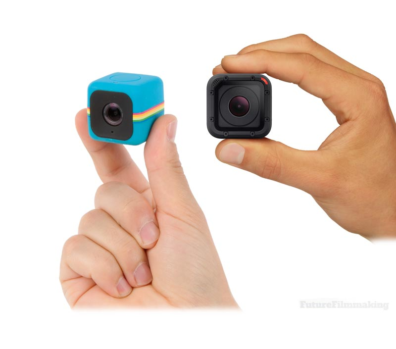 Hero4 Session Looks Like Polaroid Cube