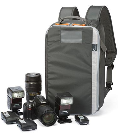 Lowepro Hardside 300 review internal backpack