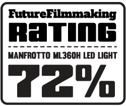 Manfrotto ML360H Midi Hybrid LED Light Review - 72 Rating