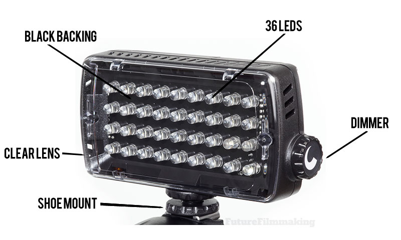 Manfrotto ML360H Midi Hybrid LED Light Review - Features