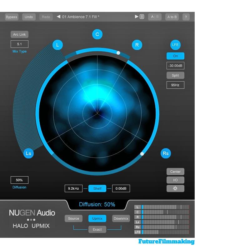 Nugen Halo Upmix Interface