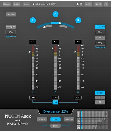 Nugen-Halo-Upmix for Mac and PC