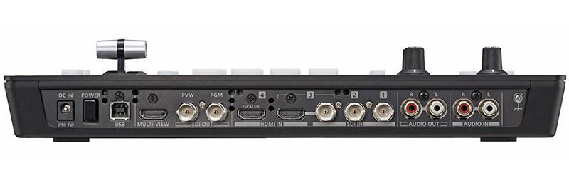 Roland V-1SDI Video Switcher Rear View