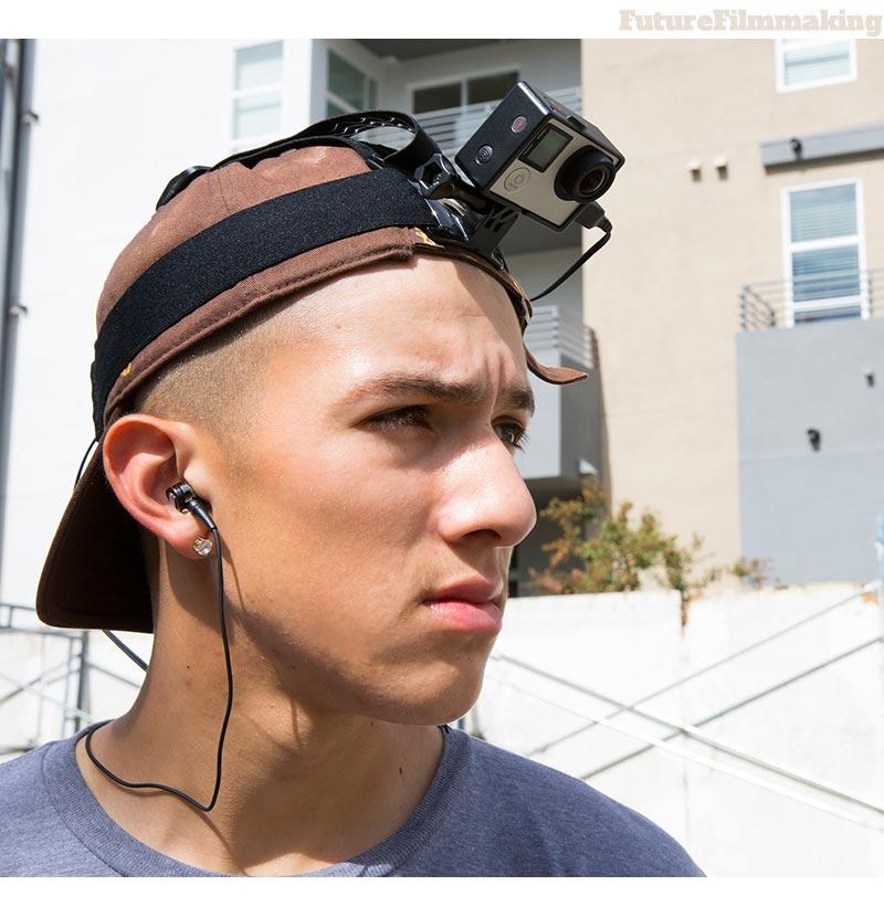 Roland WEARPRO GoPro Microphone Head mount