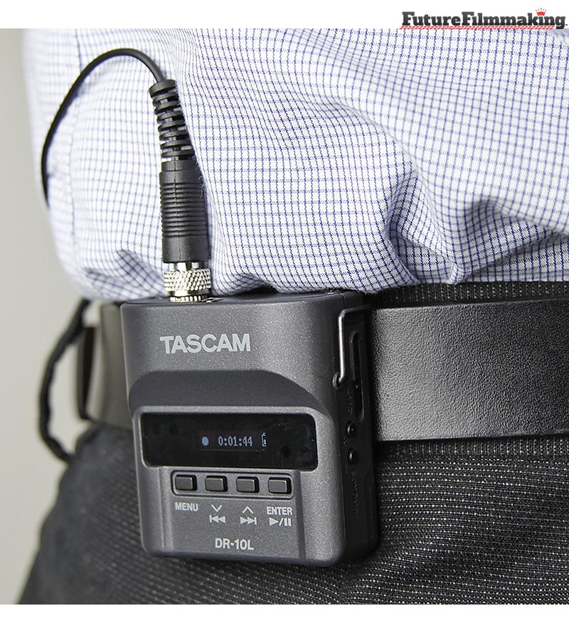 TASCAM-DR-10L-In-Action-FutureFilmmaking