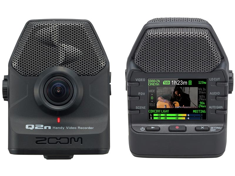 Zoom Q2n Front and Back FutureFilmmaking