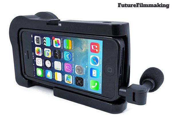 back of the almmCAMLITE iphone6 filmmaking case