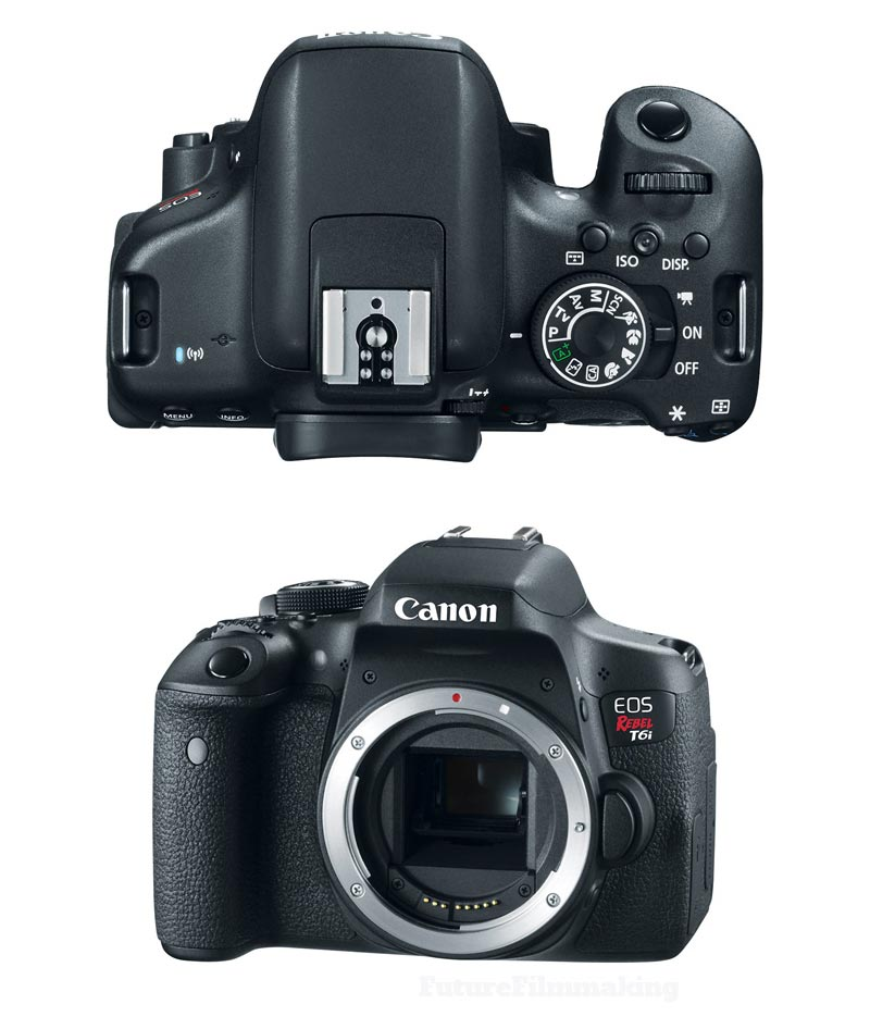 canon t6i eos rebel camera dslr