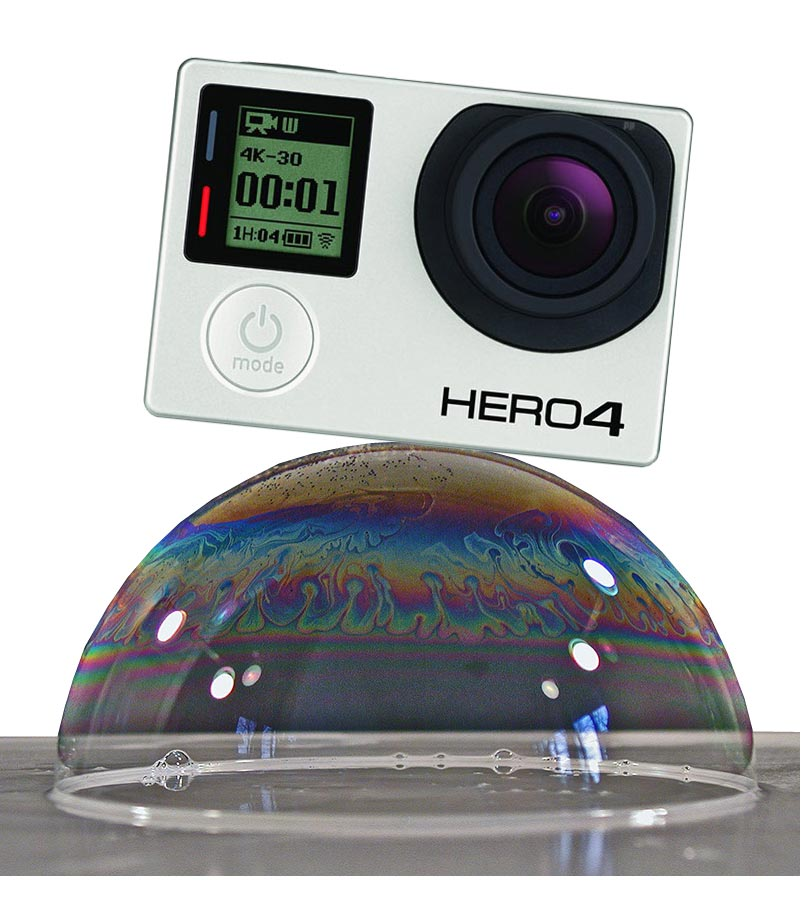 gopro is riding a bubble - is it about to burst?