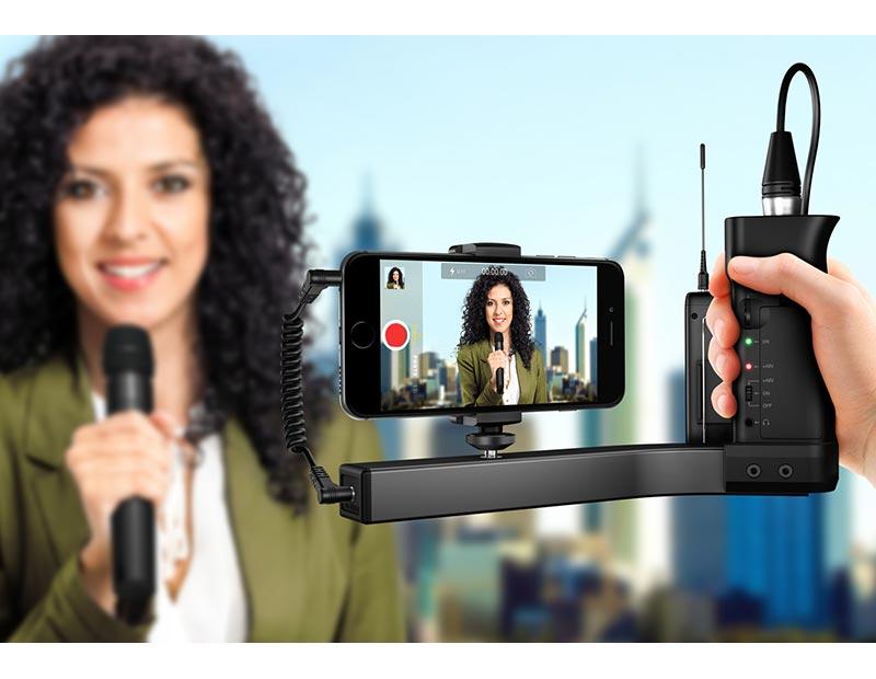 The ik multimedia iklip a v in action