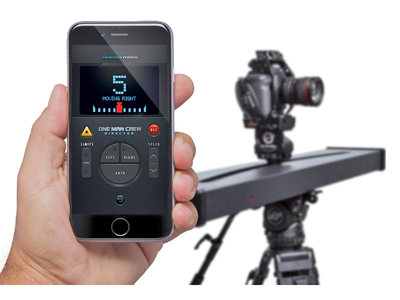 redrock ios remote app iphone one man crew director