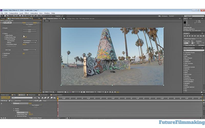 ReelSteady Debuts After Effects Stabilization Plug-In | FutureFilmmaking