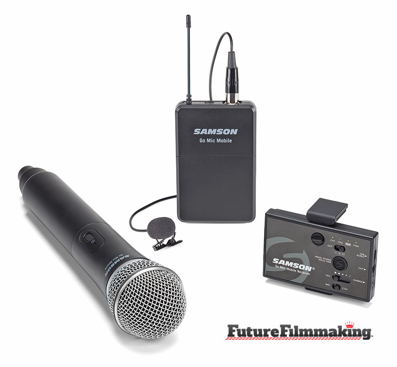 samson go mic iphone accessories by futurefilmmaking