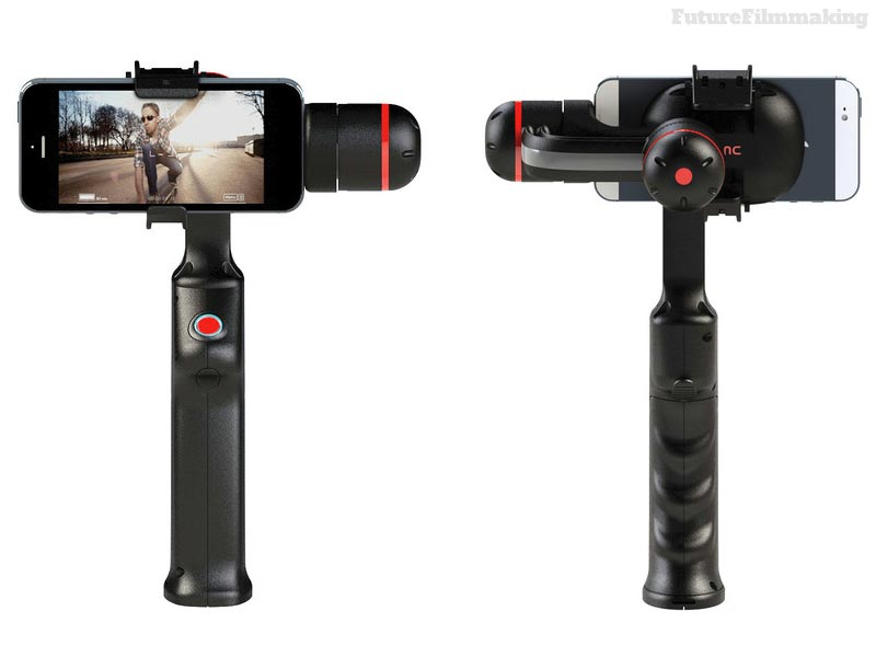 sync technology smartphone iphone gimbal stabilizer