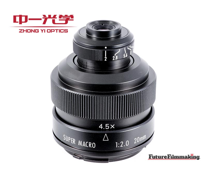 zy optics Mitakon 20mm f2 Super Macro Lens FutureFilmmaking