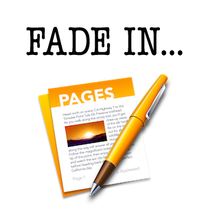 Apple Pages 5 Screenplay Format