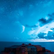 Spotlight: JeffHK's Stunning 30-Day Timelapse From The Bow Of A Massive Cargo Ship