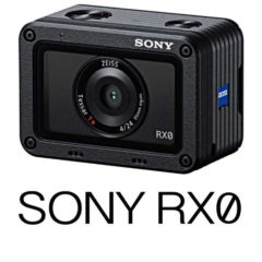 Sony Releases RX0 Action Cam