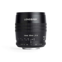Lensbaby Adds 85mm To Velvet Photography Lens Lineup